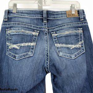 BKE Womens PAYTON Blue Jeans Long Tag 27 ACTUAL 30